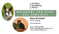 Whiskers and Paws Pet Services